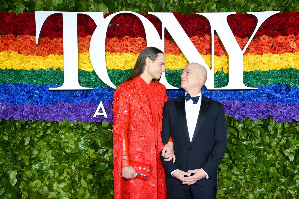 Jordan Roth and Richie Jackson at the 73rd Annual Tony Awards