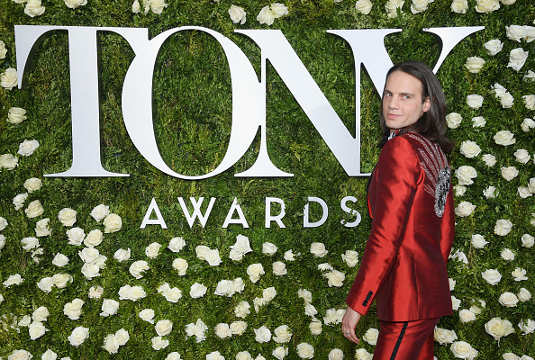 Jordan Roth at the Tony Awards