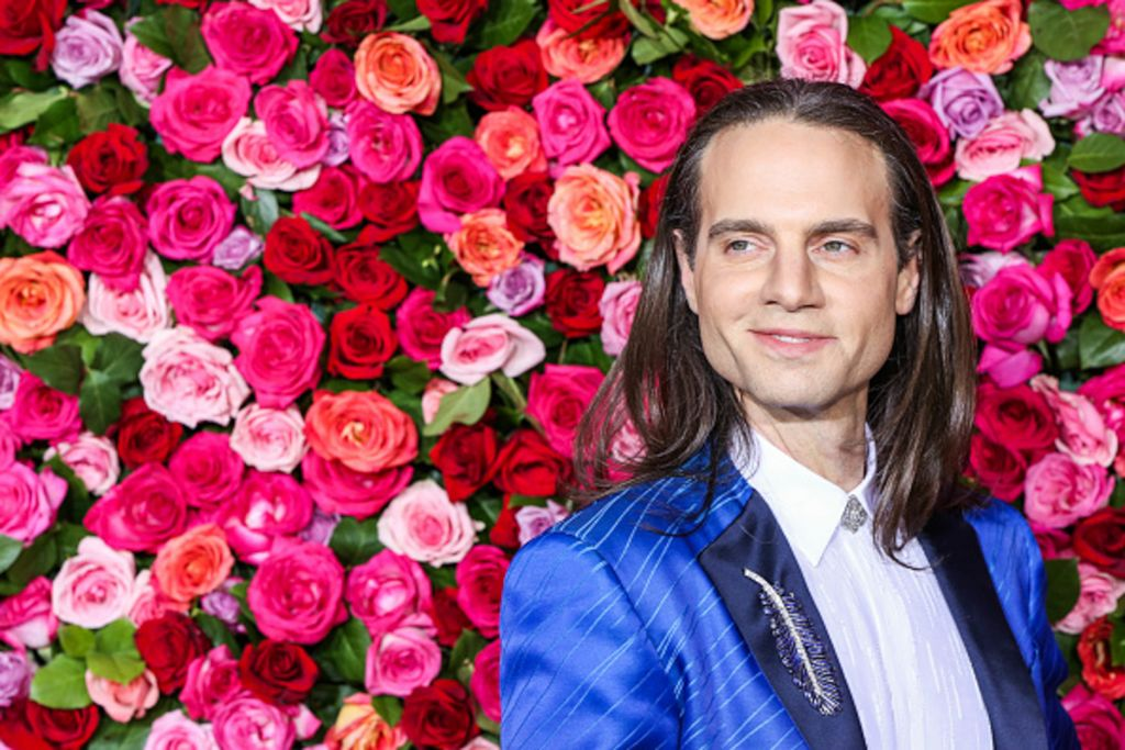 Jordan Roth at the 2018 Tony Awards. Tony winner
