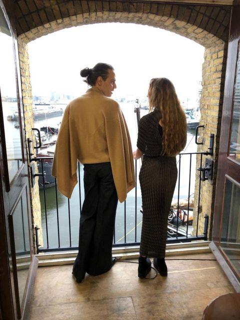 Vogue Arabia: Iris Van Herpen and Jordan Roth on Couture